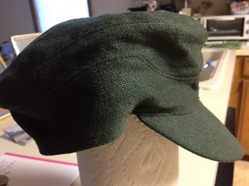 Reed Green Herringbone Twill Tropical