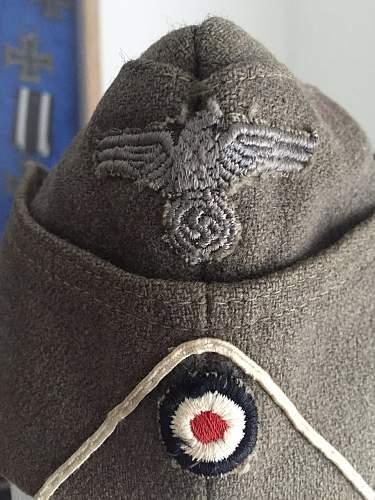 early Bundeswehr or ww2 Schiffchen