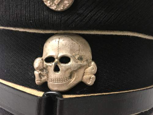 SS Enlisted man / NCO visor