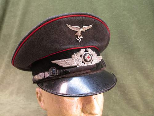 Luftwaffe Flak Visor