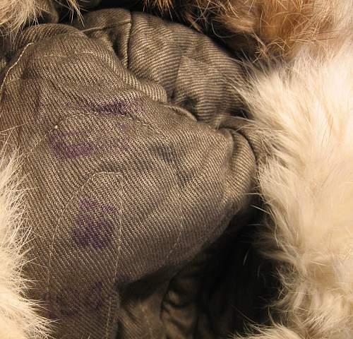 Help ID Winter Fur Hat Maker Mark