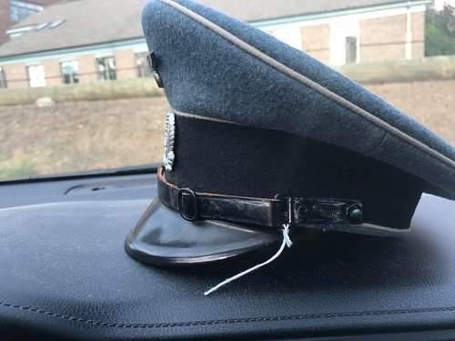 Bahnschutzpolizei NCO Visor
