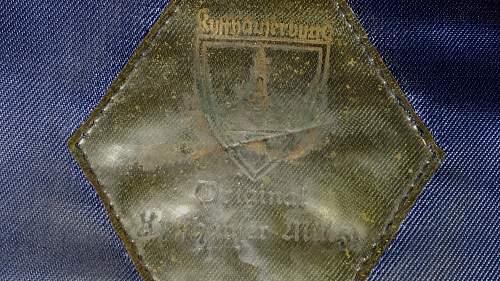 Kyffhauserbund visor for review