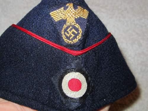 M-36 Reichsbahn Employee Cap