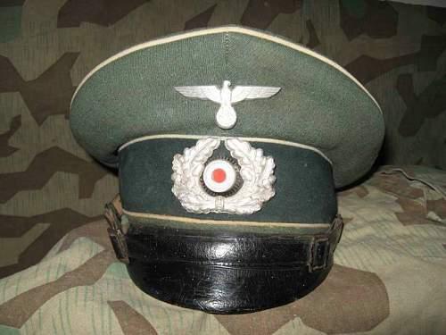 Heer Infantry visor--thoughts?