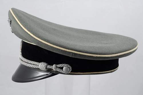 Waffen-SS Visor Hat