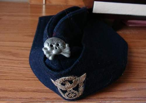 Question about Police Overseas Cap w/ Totenkopf