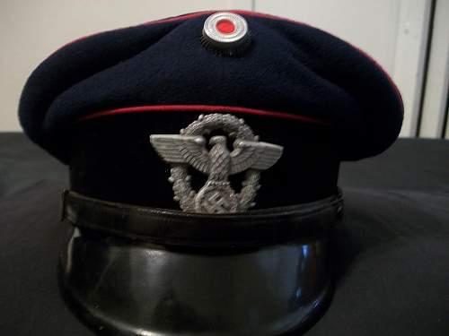 My new Feuerschutzpolizei EM/NCO cap