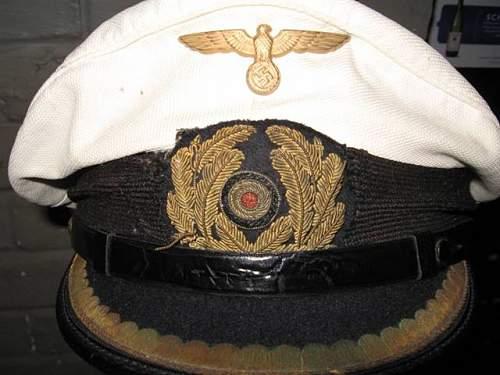 Is this Kriegsmarine cap authentic?