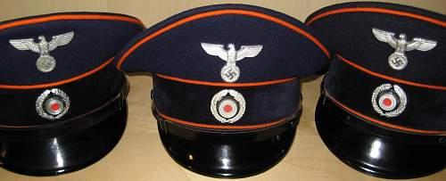 Lovely Reichspost visor cap!