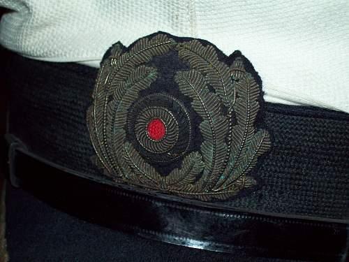 Kriegsmarine Junior Grade Officer Hat