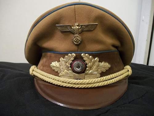 My Ortsgruppenleiter visor cap