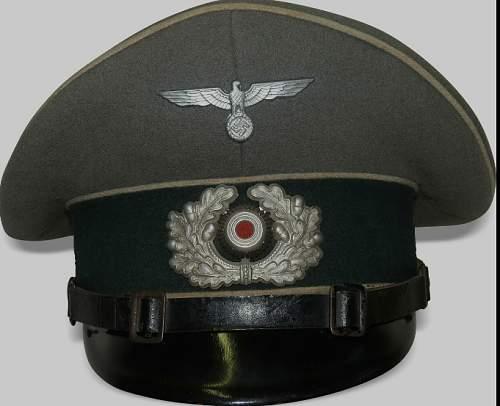 Heer Infantry EM/NCO Visor Cap - Opinions Please!