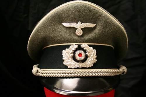 Infantry Schirmutze (Visor Cap)