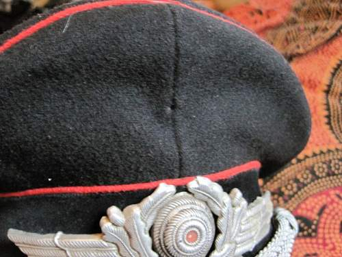 Oppinion on this Luftwaffe Fire Brigade Visor Cap