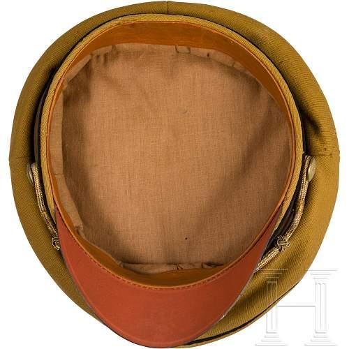 Early political visor?