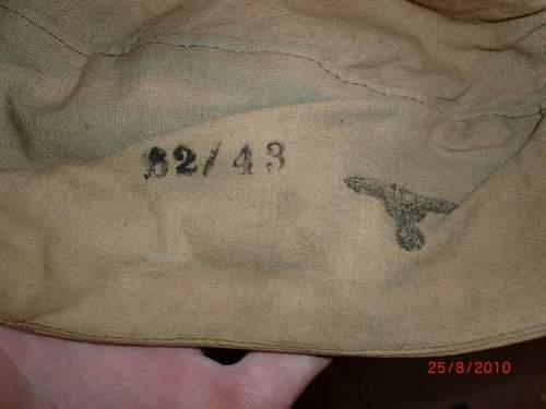 Afrikakorps cap