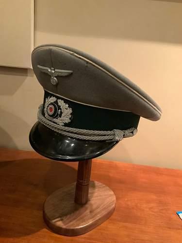 HELP - Heer Officer Cap