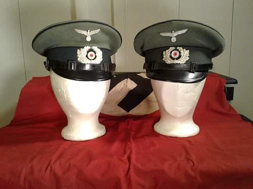 Pionier Enlisted Visor Caps
