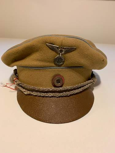 1934 model Orts level cap for review