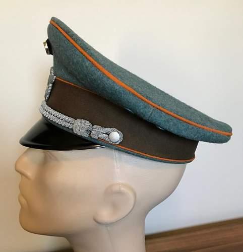 Gendarmerie Schirmmutze