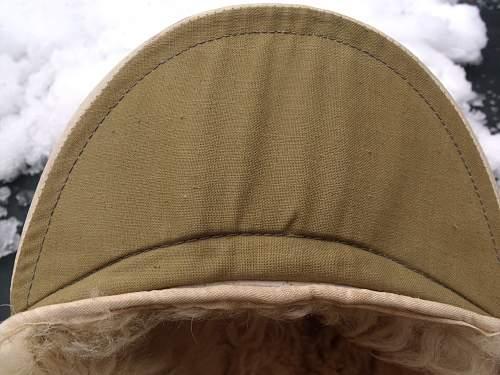 Luftwaffe Winter Fur Cap