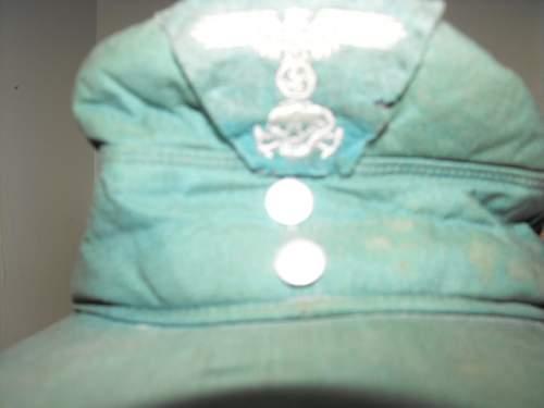 German ss ski cap
