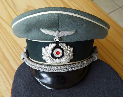 Opinions on infantry cap