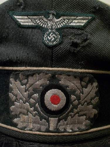 My new Heer infantry field visor cap (Feldmutze alter Art)
