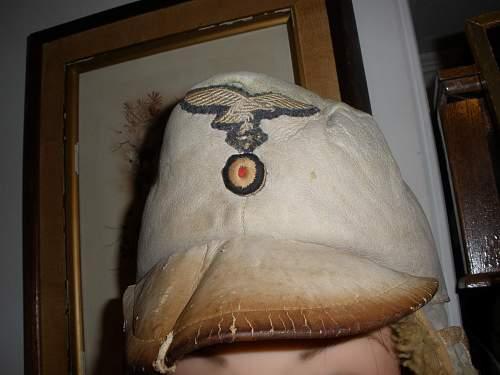 I got it the Luftwaffe fur hat!