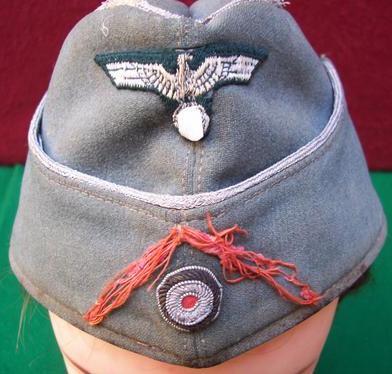 Heer Officer Feldmutze - Artillery -- Opinions please