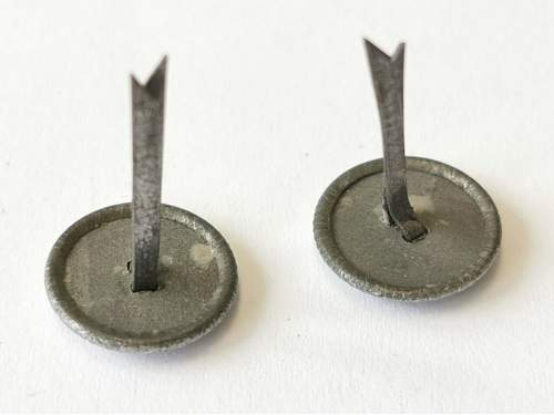 Officer chin cord buttons