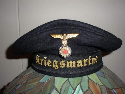 Kriegsmarine Tellermutze