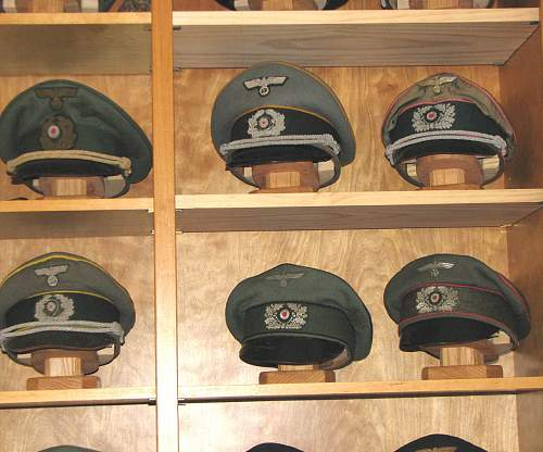 Some of my visors