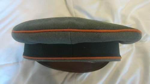Feldgendarmerie Officer visor cap - EREL