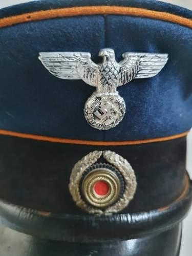 REICHSPOST WWII visor cap