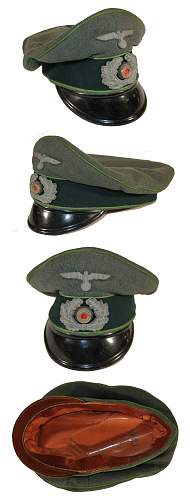 Heer Panzer Grenadier schirmutze: I need opinion