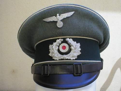 Heer Infantry NCO's schirmutze circa 1937