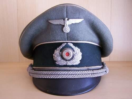 Heer Infantry Officers schirmutze