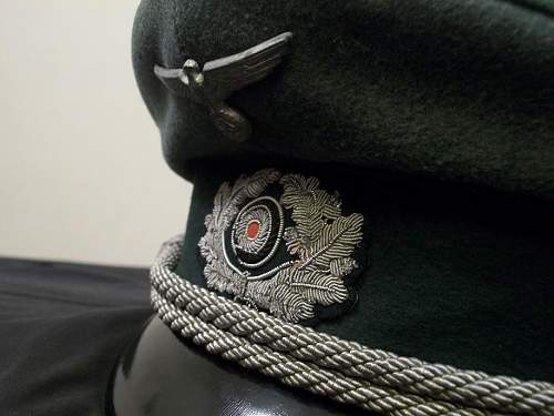 Heer Admin officers schirmutze