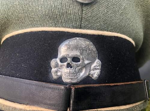 Waffen SS Visor Cap