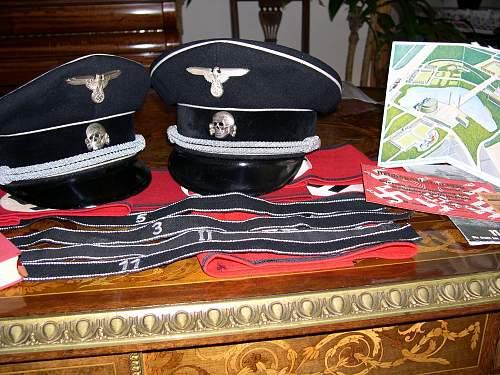 Heer Infantry Officer's schirmutze