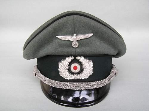 Pioneer Officers Visor