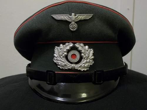 """Heer Panzer schirmutze for """"other ranks"""""""