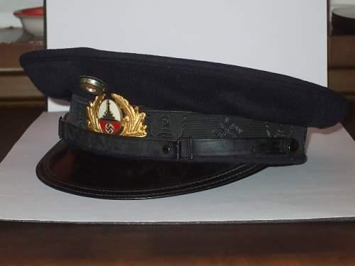 Reichskriegerbund veteran schirmutze