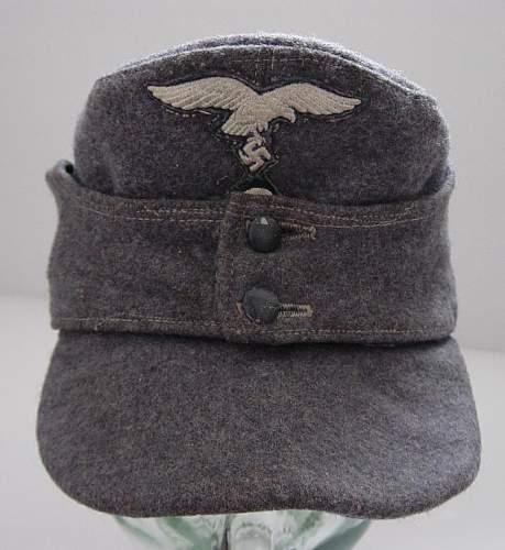 Click image for larger version.  Name:Luftwaffe Other ranks Einheitfeldmutze..JPG Views:42 Size:108.4 KB ID:162321