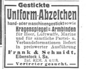 Luftwaffe Officers schirmutze : Erel Privat