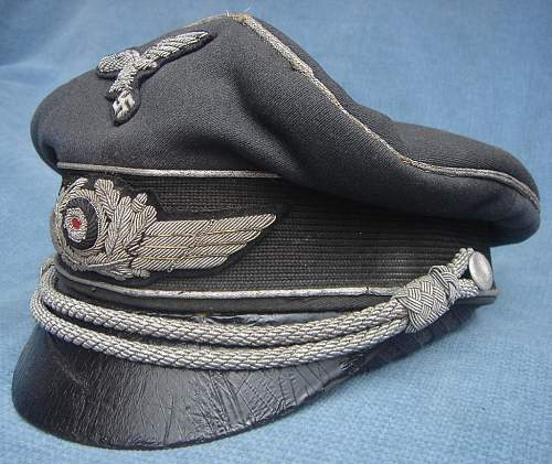 Luftwaffe Officers schirmutze : Erel Privat