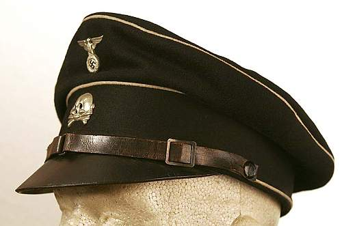 Early pre RZM SS EM visor from Bob Coleman collection