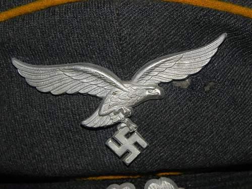 Luftwaffe EM schirmmutze